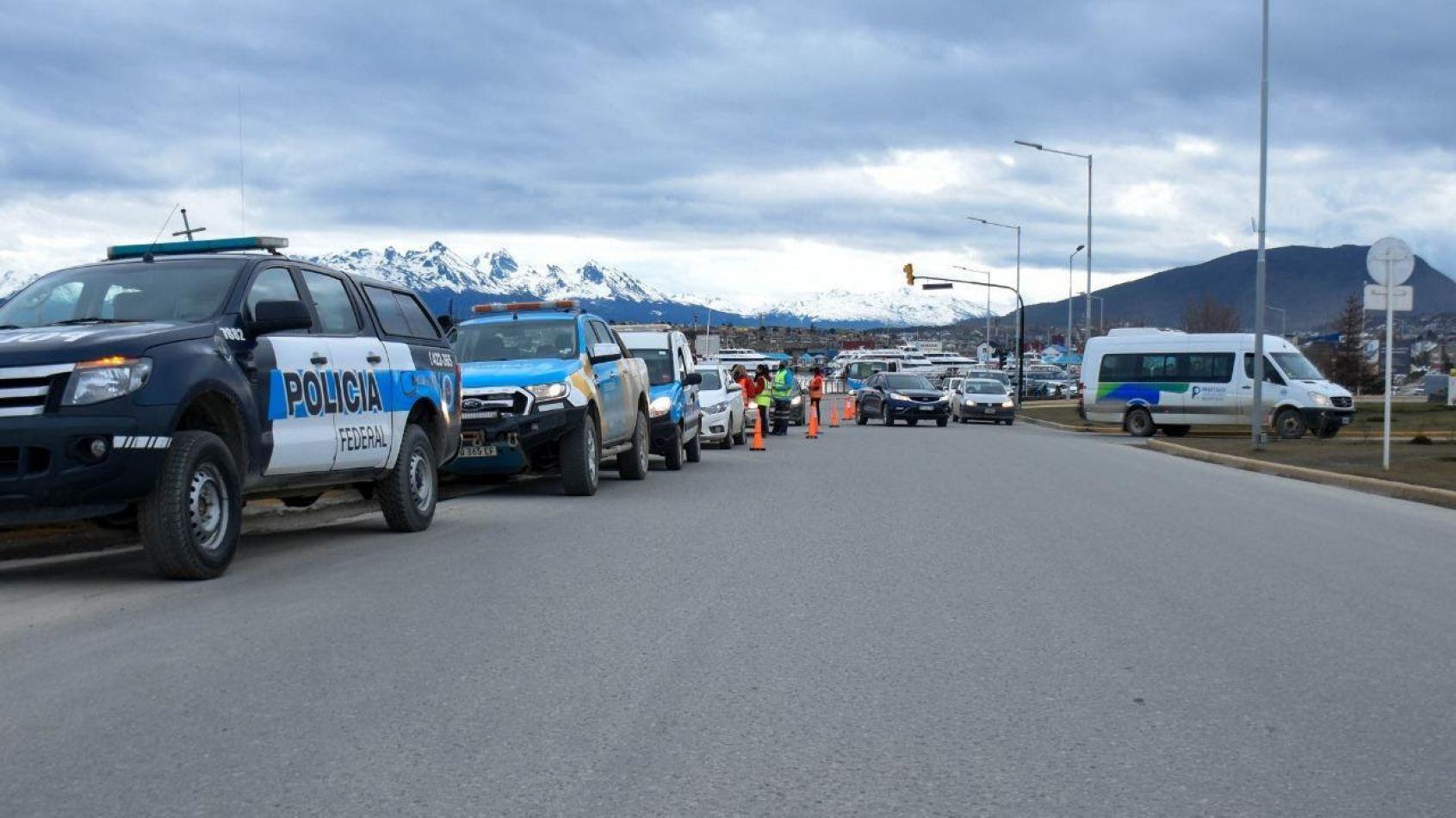 Municipio de Ushuaia fue parte del 10° Operativo de Alcoholemia Federal
