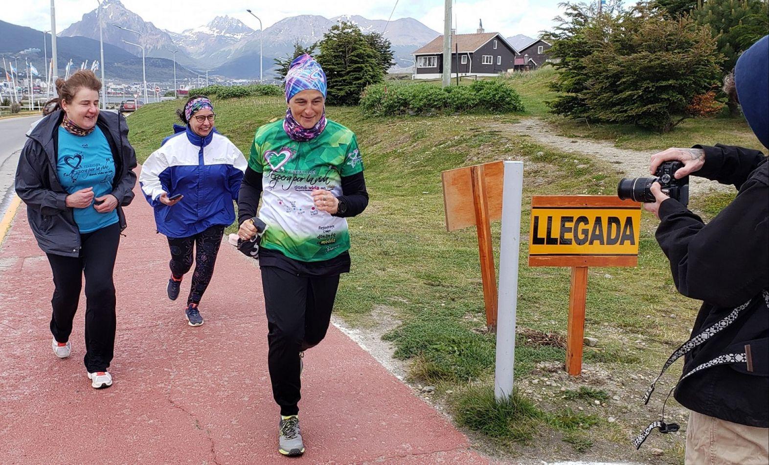 María de los Angeles Musimeci, impulsa una nueva maratón solidaria.