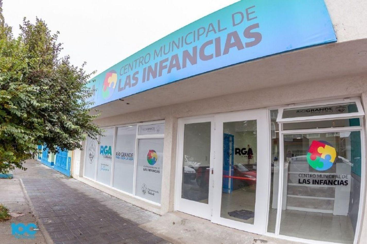 Centro Municipal de las Infancias de la ciudad de Río Grande.