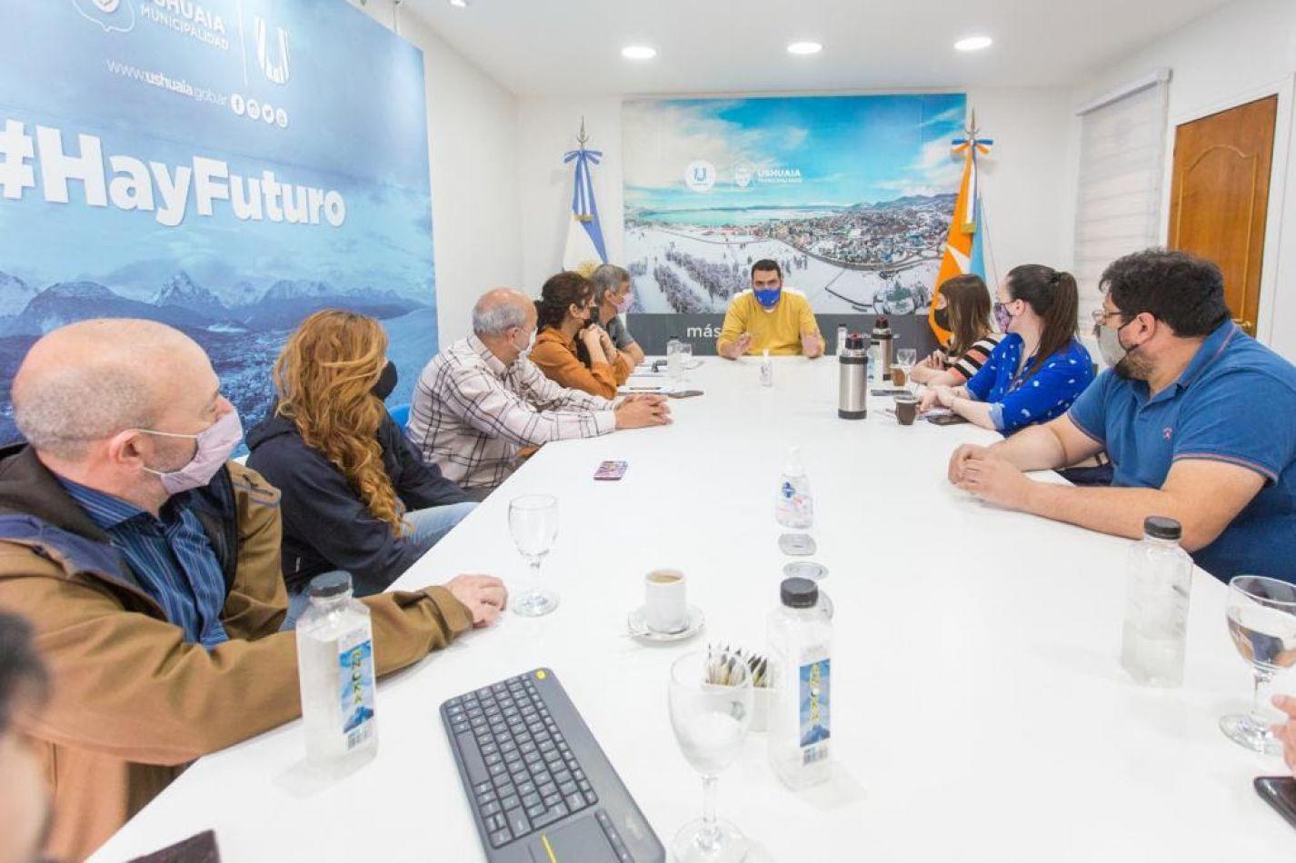 Vuoto junto a organismos nacionales avanzan en la mejora del trabajo territorial de la Nación en Ushuaia