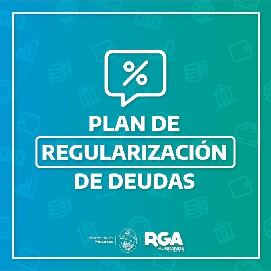 Continúa vigente el Plan de Regularización de Deudas para contribuyentes