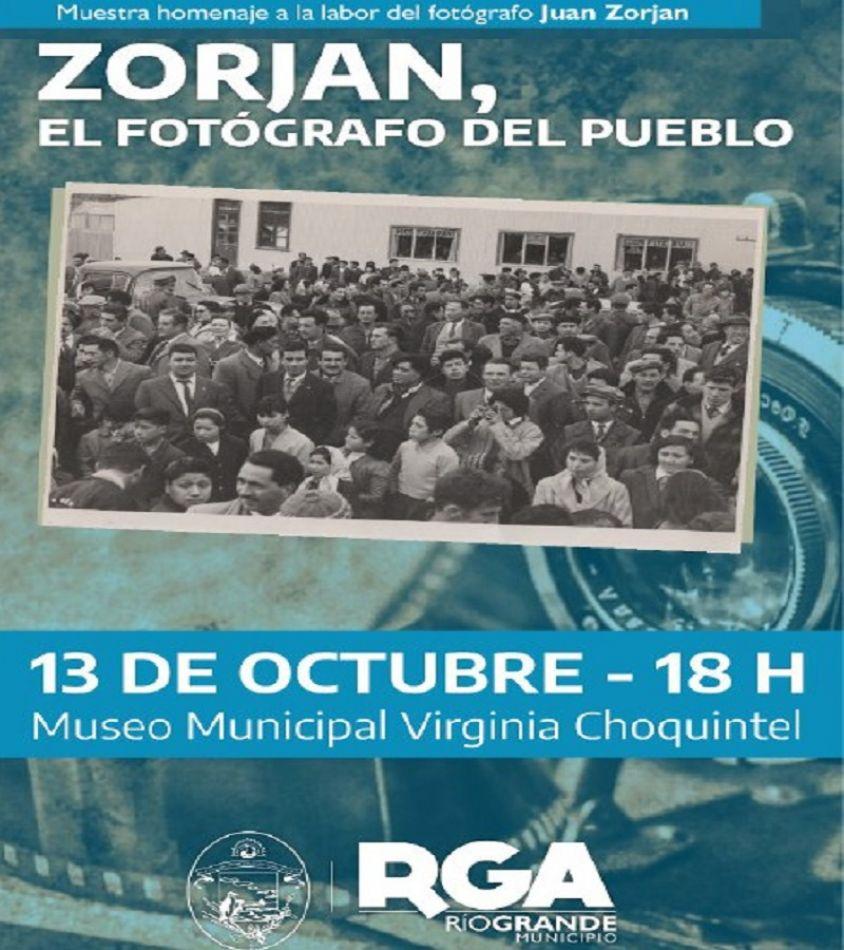 Se inaugurará la muestra fotográfica en homenaje al trabajo de Juan Zorjan