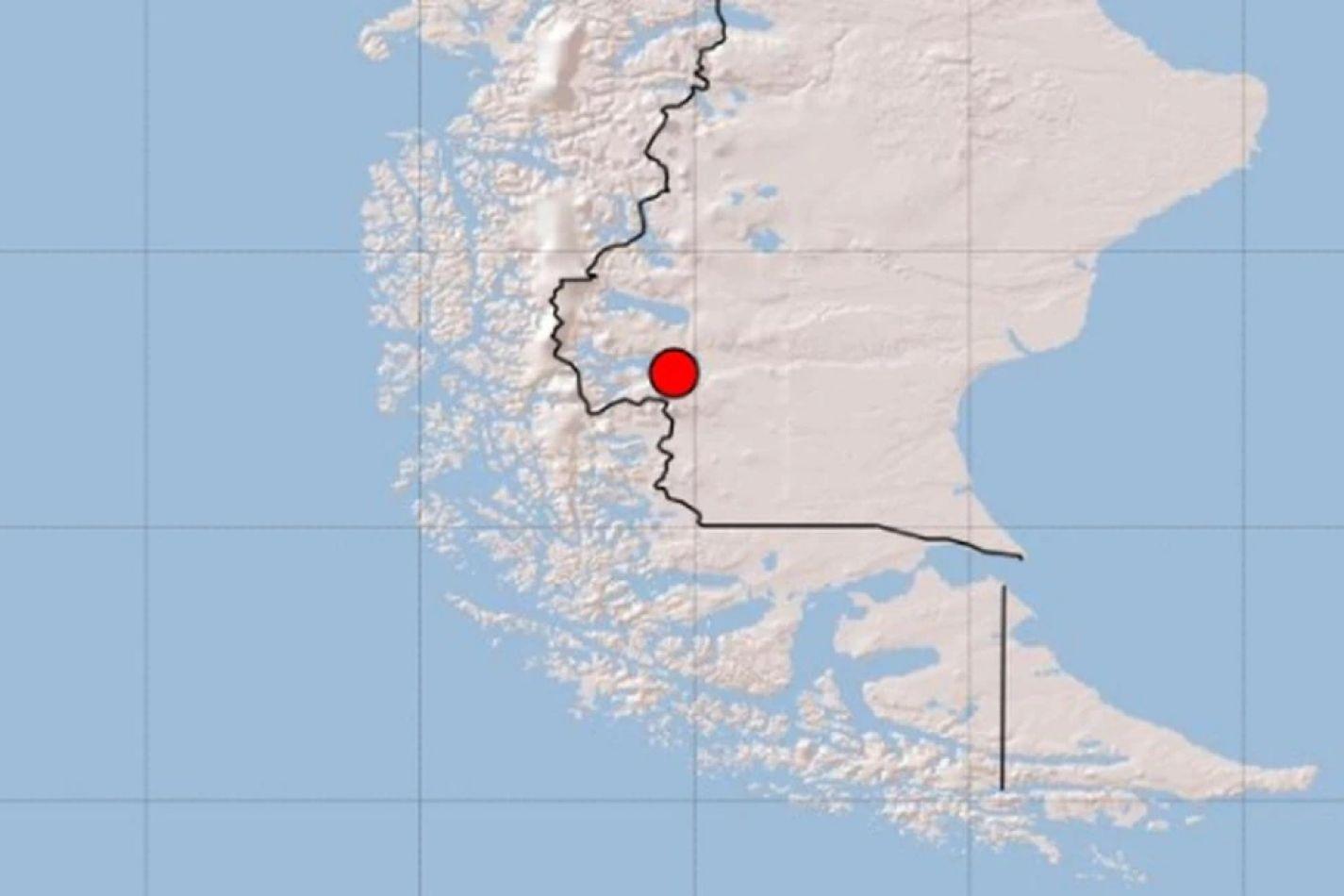 Un sismo de 5,4 grados sacudió a El Calafate