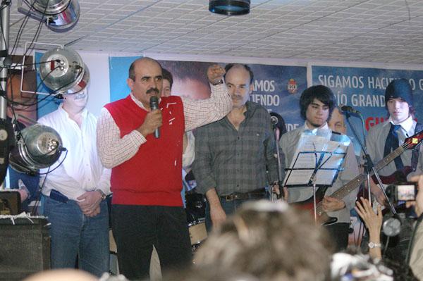 Juan Rodríguez encabezó la lista de Legisladores de la UCR.