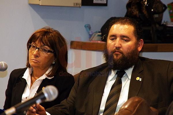 Legislador por Partido Justicialista, Eduardo Barrientos.