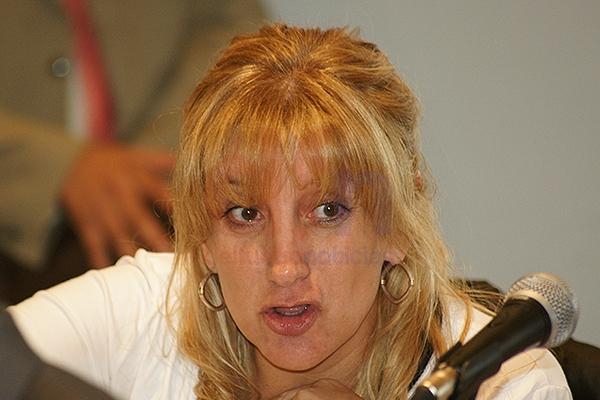 Legisladora de Tierra del Fuego por Frente para la Victoria, Myriam Martínez.