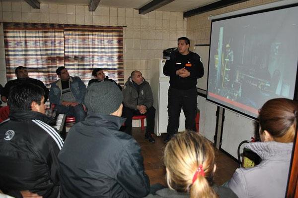 El curso abarca temas relativos a la seguridad.