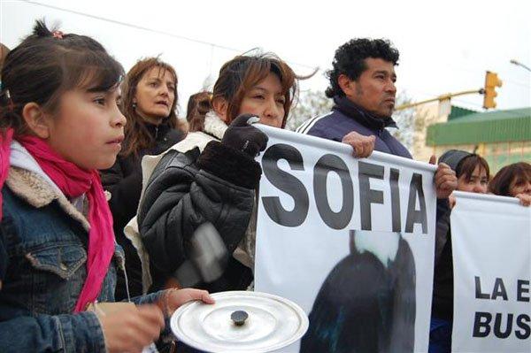 Fabián Herrera continúa la búsqueda de su hija Sofía.