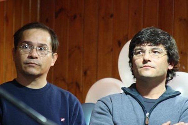 López y Raimbault, durante su actividad en la Legislatura.