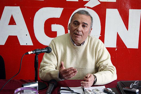 Daniel Lépez, en plena campaña por un lugar en la Cámara Baja del Congreso argentino.