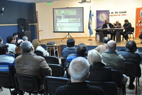 La presentación se realizó en el CGP Leandro N. Alem