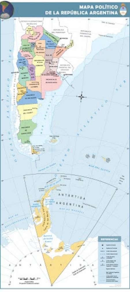 Melella y la nueva demarcación limítrofe argentina